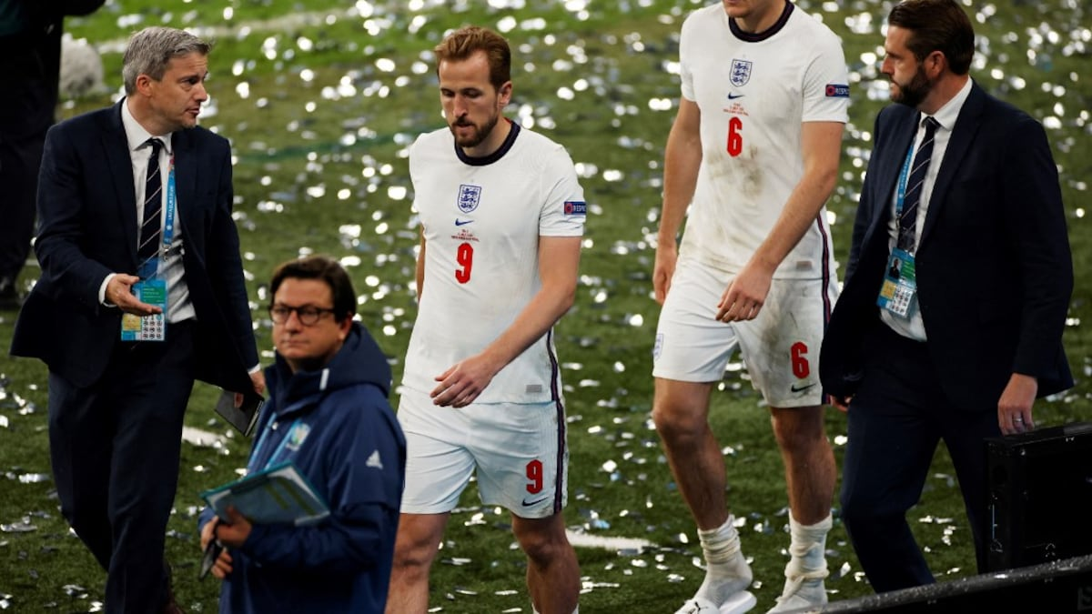UEFA EURO 2020 final: Harry Kane In Pain England lose to Italy on penalties Football news