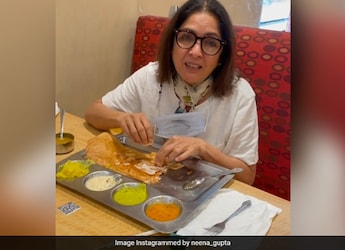 'Can't Imagine I'm In A Restaurant,' Says Neena Gupta; And We Can't Help But Relate - See Post