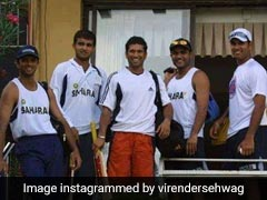 """""""Achhe Din"""": Virender Sehwag's Throwback Pic Is Nostalgia Guaranteed"""