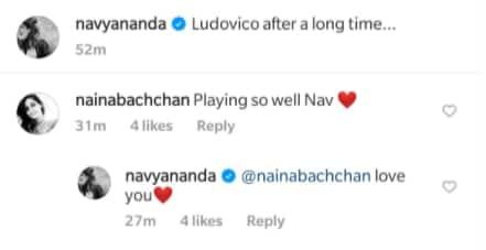 , On Navya Naveli Nanda's Piano Video, An Adorable Comment From Naina Bachchan,