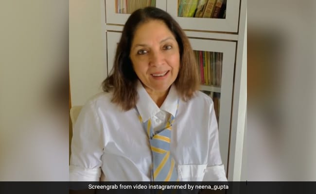 Move Over If Neena Gupta's Tie Style Isn't Your Cup Of Tea. See Her Sassy Response To Masaba's Comment