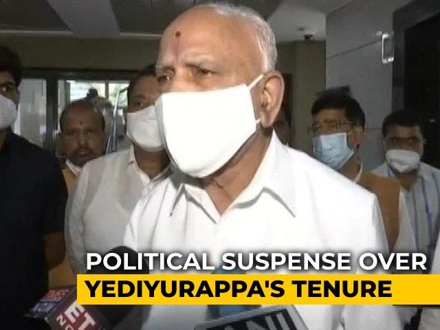 Video : Suspense Continues Over Karnataka Chief Minister BS Yediyurappa's Tenure