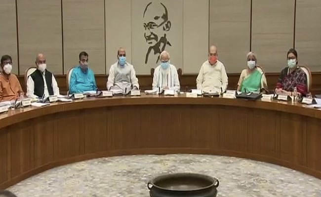 PM Meets Ministers Ahead Of Monsoon Session, Covid, Petrol Price Discussed