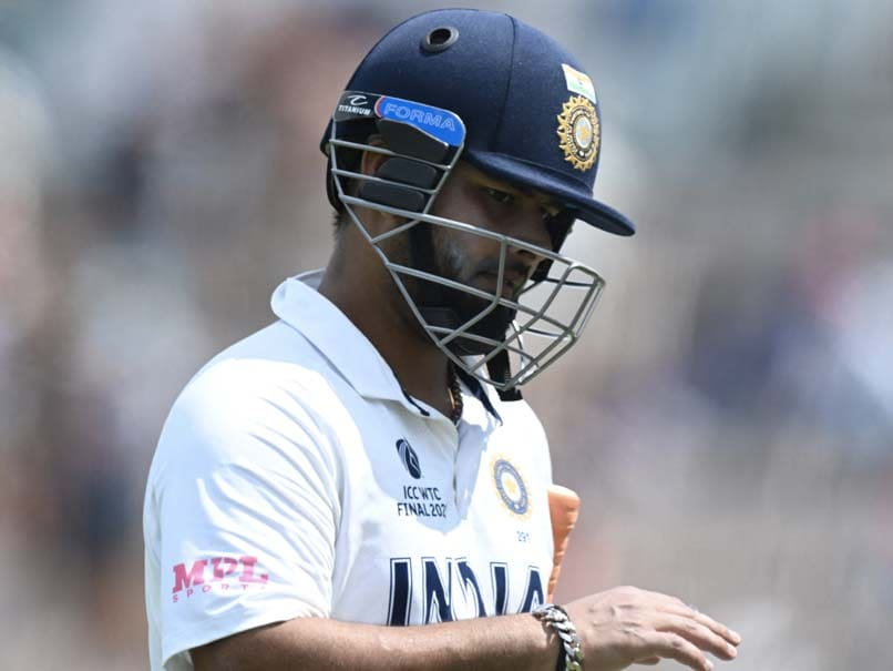 Indian Wicketkeeper-Batsman Rishabh Pants Tests Positive for COVID-19 in England: Sources |  Cricket News