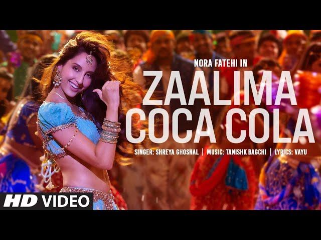 नोरा फतेही का नया गाना 'Zalima Coca Cola' रिलीज, डांस स्टेप्स ने जीता फैंस का दिल- देखें Video