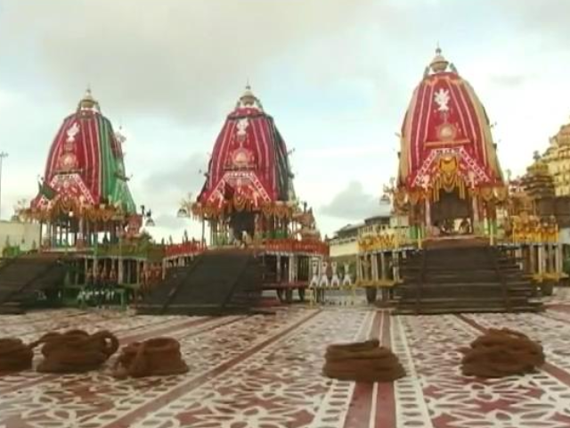 Video : Amid Pandemic, Rath Yatra Without Devotees In Puri