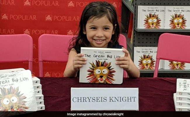 Book Written By 3-Year-Old Released In India