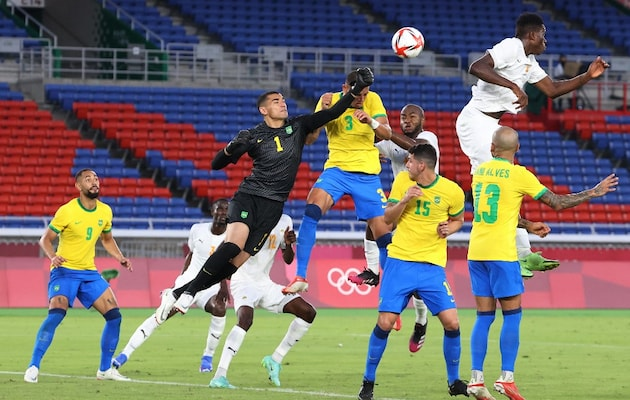 Tokyo Olympics: Football Champions Brazil Held As Gignac Rescues France