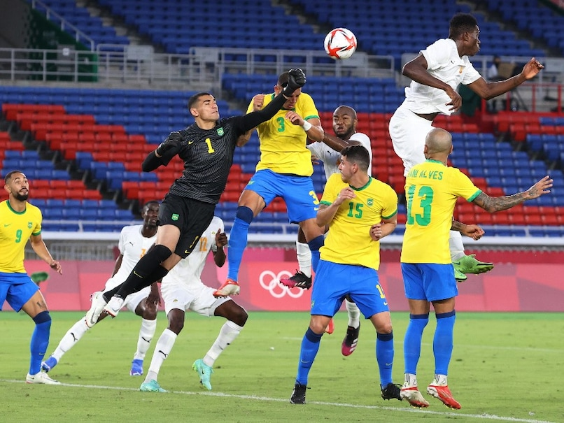 Tokyo Olympics: Brazil were held to a goal-less draw by Ivory Coast while Andre-Pierre Gignac's hat-trick's ensured that France prevailed 4-3 over South Africa.