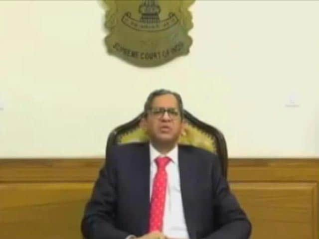 Video : 'Mere Right To Change Ruler No Guarantee Against Tyranny': Chief Justice