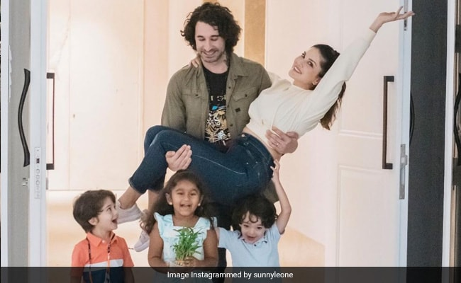 Sunny Leone And Daniel Weber Take Us Inside Their New House In Mumbai. See Pics