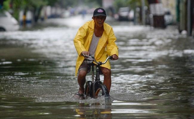 Philippines Evacuates Thousands As Monsoon Rains Flood Capital Manila