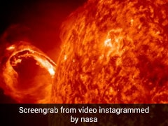 """Video: """"Awesome Star"""" Ejects Billions Of Particles At Superfast Speed"""