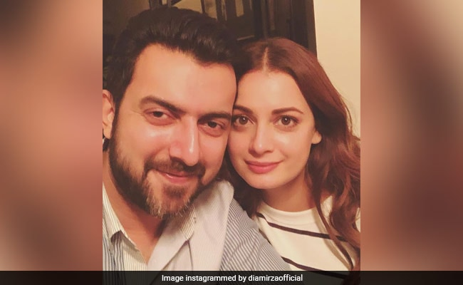 ICYMI: Dia Mirza's Birthday Wish For Ex-Husband Sahil Sangha