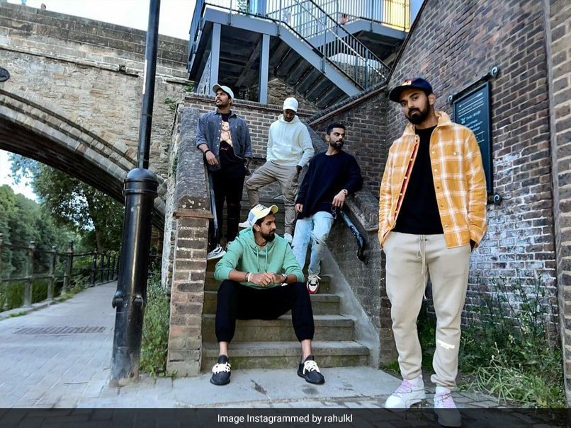 Virat Kohli, KL Rahul Strike A Pose In This Groovy Pic. Guess The Photographer?