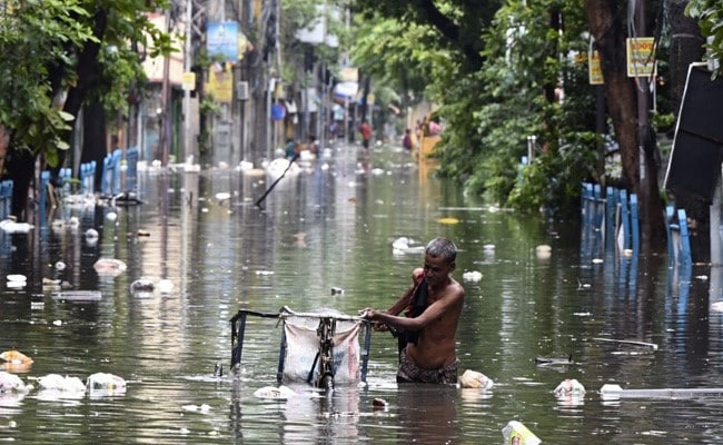 In Photos: How Overnight Rain Left Parts Of West Bengal Deluged