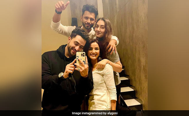 After Rahul Vaidya And Disha Parmar's Wedding Announcement, What Friend Aly Goni Wrote
