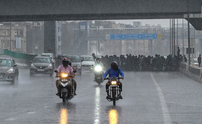 100 mm Rain In Delhi In 3 Hours, This July Most Rainy For City Since 2003