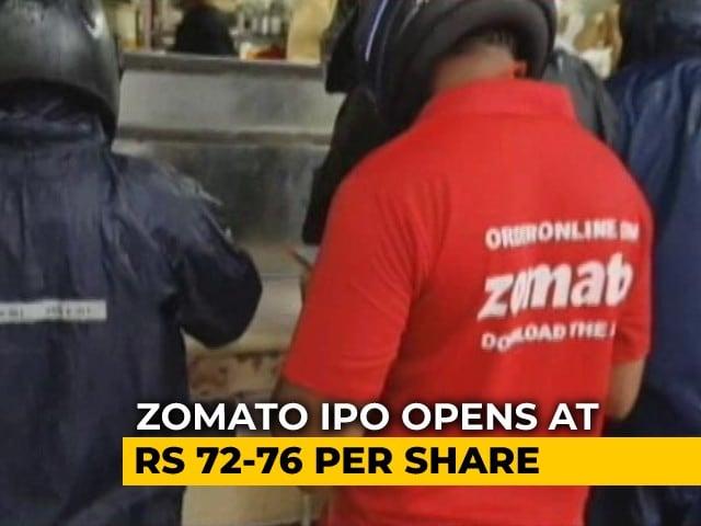 Video : Zomato Kicks Off Rs. 9,375-Crore IPO, India's Biggest This Year