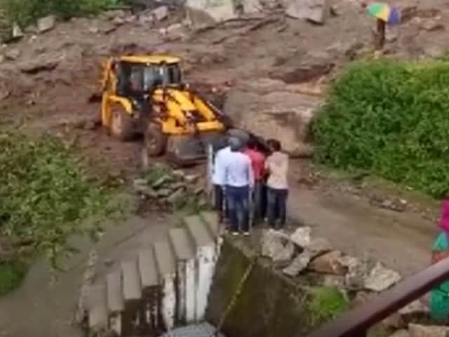 Video : 5 Dead, 6 Missing After Landslide In Himachal Pradesh