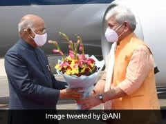 President Ram Nath Kovind Arrives In Srinagar For Four-Day Visit