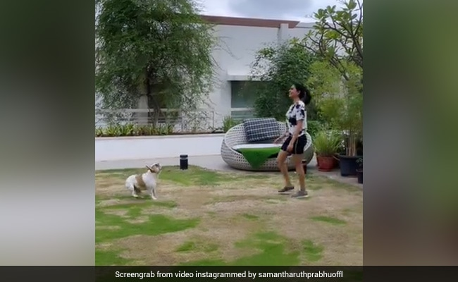 In Samantha Ruth Prabhu's Latest Video, A Glimpse Of Her Fabulous Garden