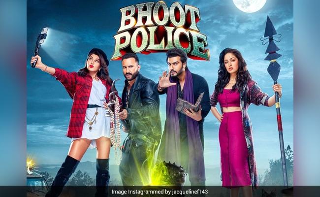 Bhoot Police New Poster: Make Way For Ghostbusters Saif Ali Khan,  Jacqueline Fernandez, Arjun Kapoor And Yami Gautam