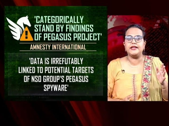 """Video : Amnesty Stands By Pegasus Project Findings, Rejects """"False Rumours"""""""