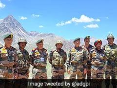 General Bipin Rawat Visits Areas Along LoC In Dras Sector On Kargil Vijay Diwas Eve