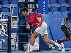 Watch: Novak Djokovic Smashes Racquet, Tosses One Away In Anger At Tokyo Olympics