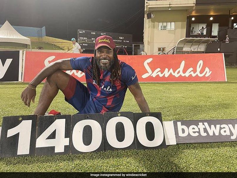 West Indies vs Australia: Chris Gayle Becomes First Cricketer To Score 14,000 T20 Runs