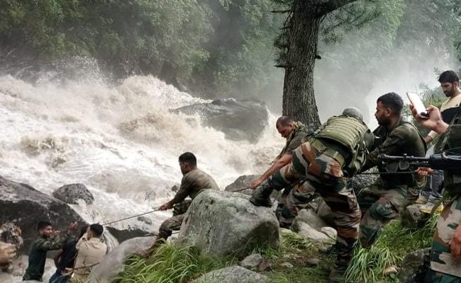 7 Dead, 20 Missing After Cloudburst Hits Village In J&K's Kishtwar
