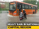 Video : Heavy Rain In Parts Of Delhi, Weather Department Predicts More Rainfall