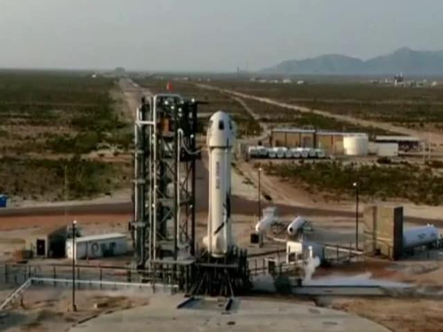 Video : Jeff Bezos, World's Richest Man, Travels To Space In His Own Rocket