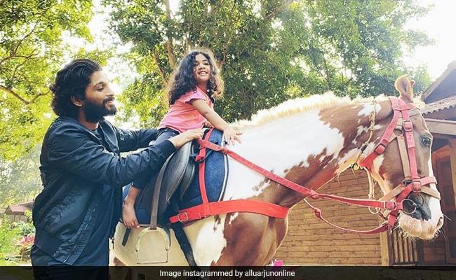 Allu Arjun's Daughter Arha To Make Her Film Debut With Samantha Ruth Prabhu's Shakuntalam. 'A Proud Moment,' He Writes