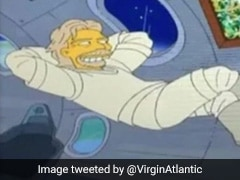 '<i>The Simpsons</i>' Predicted Richard Branson's Space Flight In 2014