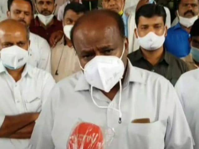 Video : Solve Issues Of People: HD Kumaraswamy To Political Parties On Snooping Row