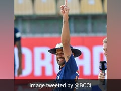Watch: Shikhar Dhawan's 'Thigh-Five' Celebration After Winning Toss vs Sri Lanka