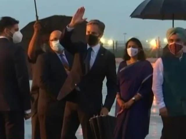 Video : US Secretary of State Arrives; To Hold Talks With Indian Leaders Tomorrow