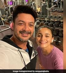 Look Who Alia Bhatt Bumped Into At Hyderabad Gym - Jisshu Sengupta