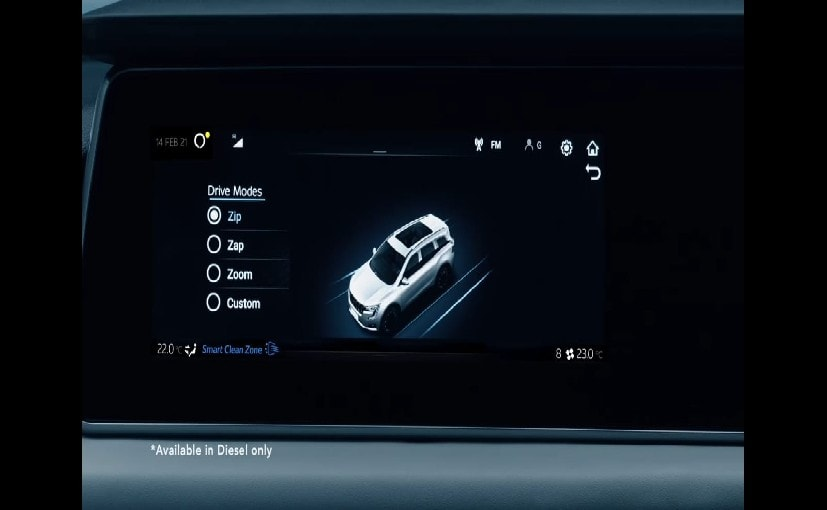 The Mahindra XUV700 gets new drive modes called- Zip, Zap and Zoom.