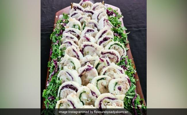 Chicken Pinwheel sandwich