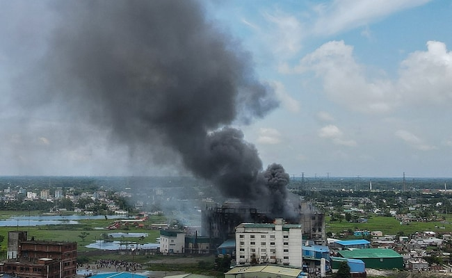 43 Killed In Bangladesh Factory Fire: Police, Building Still In Flames