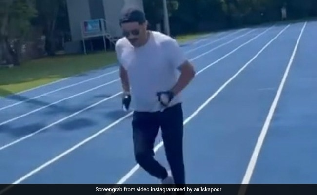 Anil Kapoor, 64, Runs Like The Wind In New Fitness Post