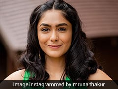 Excuse Us While We Go Absolutely Green Over Mrunal Thakur's Latest Fashion Outing