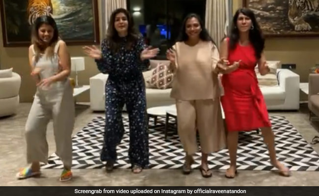 Raveena Tandon's Dance Fest With Her Besties Will Make You Want To Join The Party