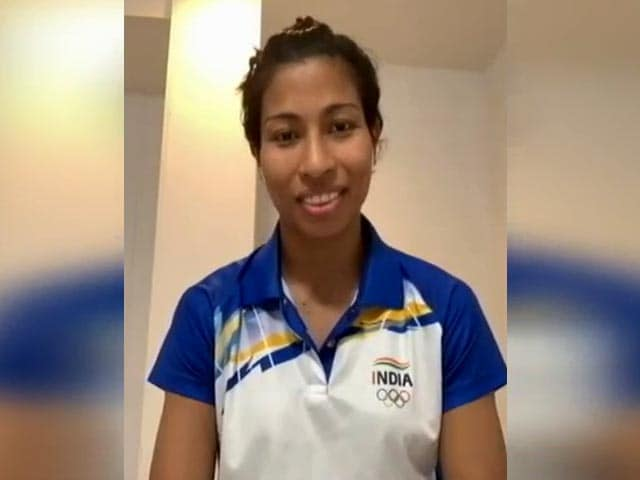 """Video : """"Played With An Open Heart"""": Lovlina Borgohain After Reaching Olympics Semi-Finals"""