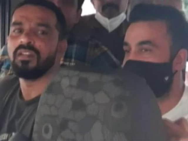 """Video : """"Is He A Terrorist,"""" Asks Lawyer As Raj Kundra Is Denied Bail In Porn Case"""