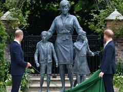 Princes William, Harry Reunite To Unveil Statue Of Princess Diana