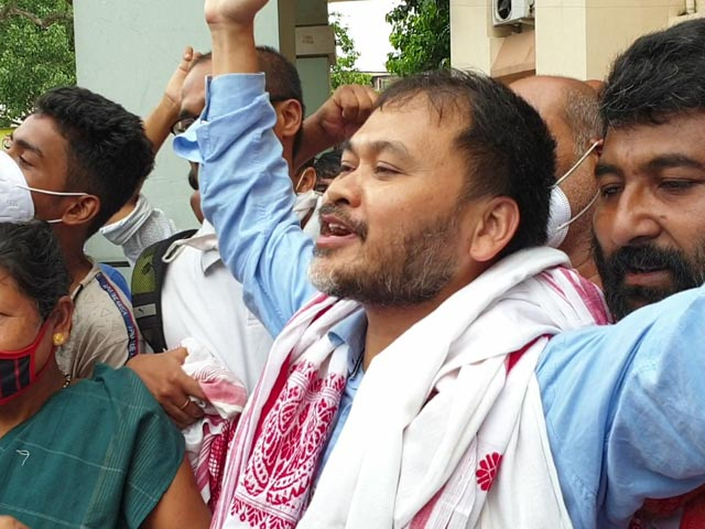 Video : Freed After 1.5 Years, Assam Leader Akhil Gogoi's Vow On Anti-Terror Law